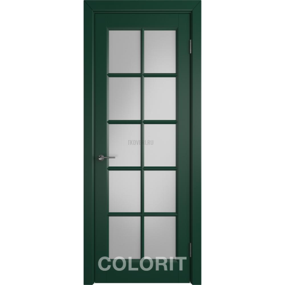 К3 COLORIT ДО матовое Зеленая эмаль