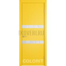 K6 COLORIT ДО белый лак Желтая эмаль