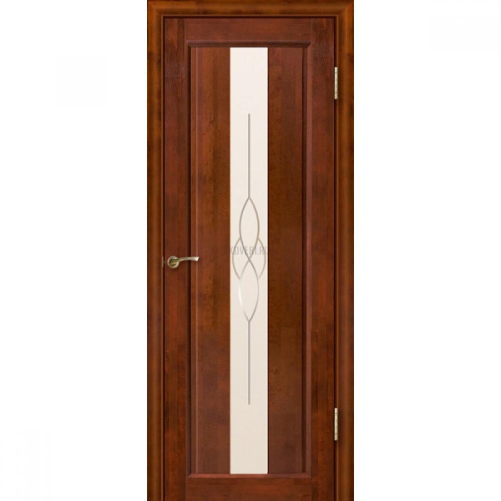 Дверь Версаль остекленная Бренди