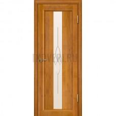 Дверь Версаль остекленная Медовый орех