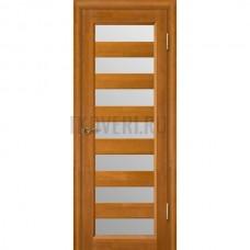 Дверь Премьер плюс остекленная Медовый орех