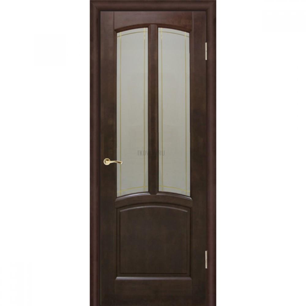 Дверь Виола остекленная Венге