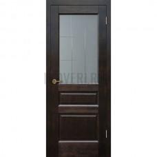 Дверь Венеция остекленная Венге
