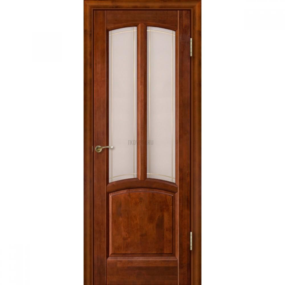 Дверь Виола остекленная Бренди