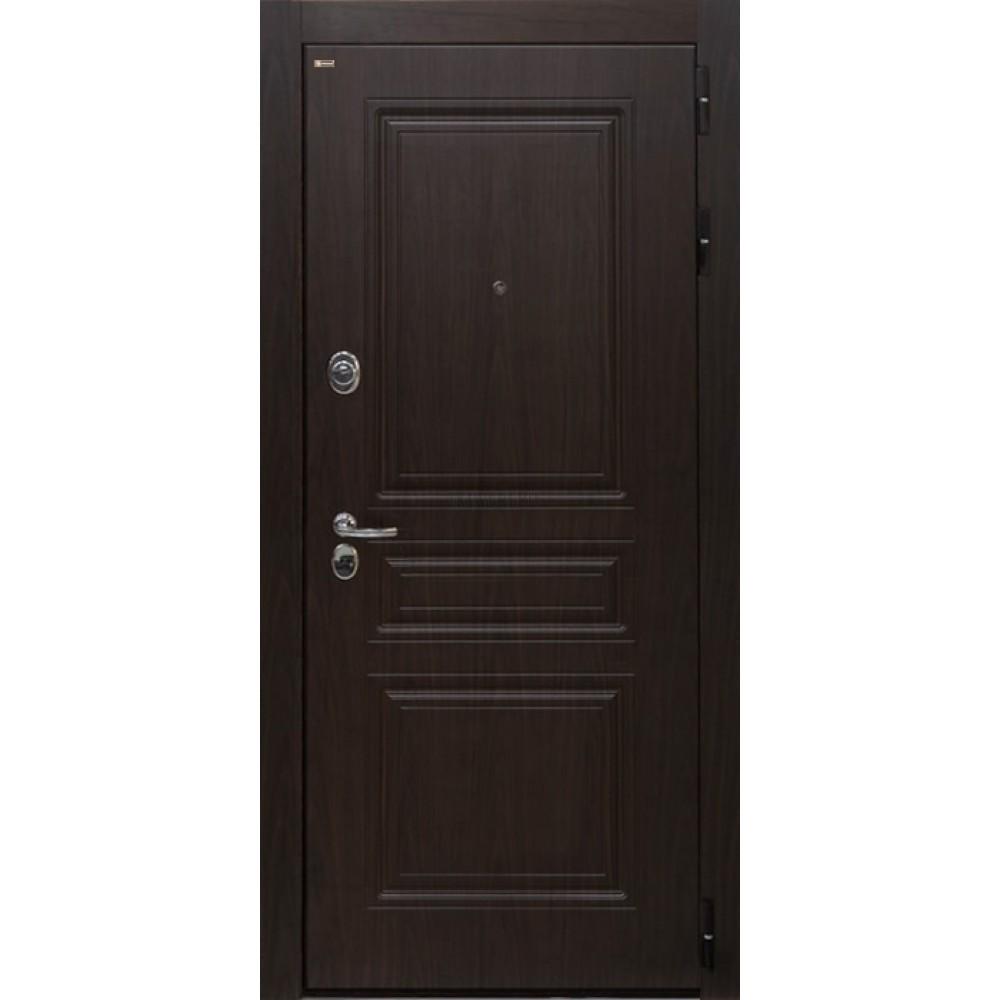 Входная дверь Брайтон Тиковое дерево