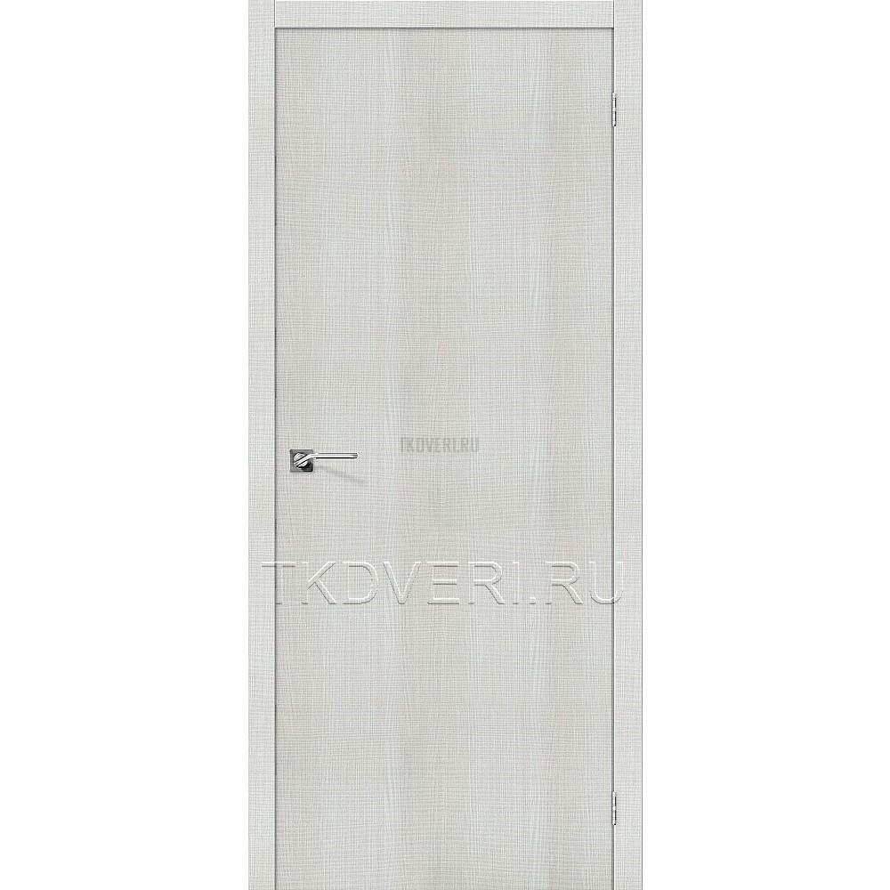Дверь экошпон Порта-50 Bianco Crosscut