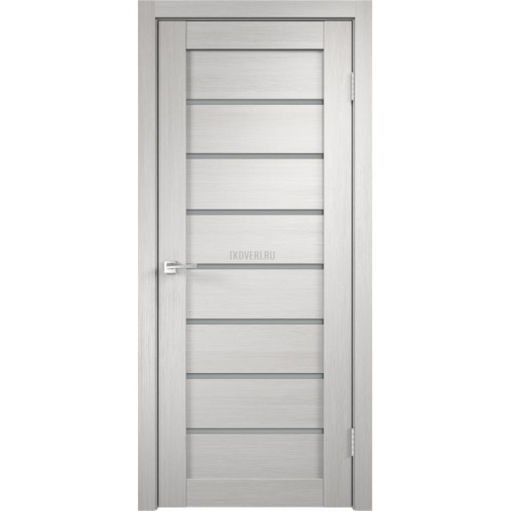 Дверь 3D FLEX UNICA 1 цвет Белый стекло Мателюкс