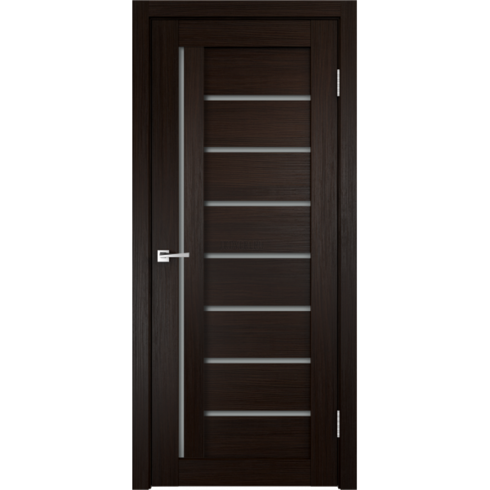 Дверь 3D FLEX UNICA 3 цвет Венге стекло Мателюкс