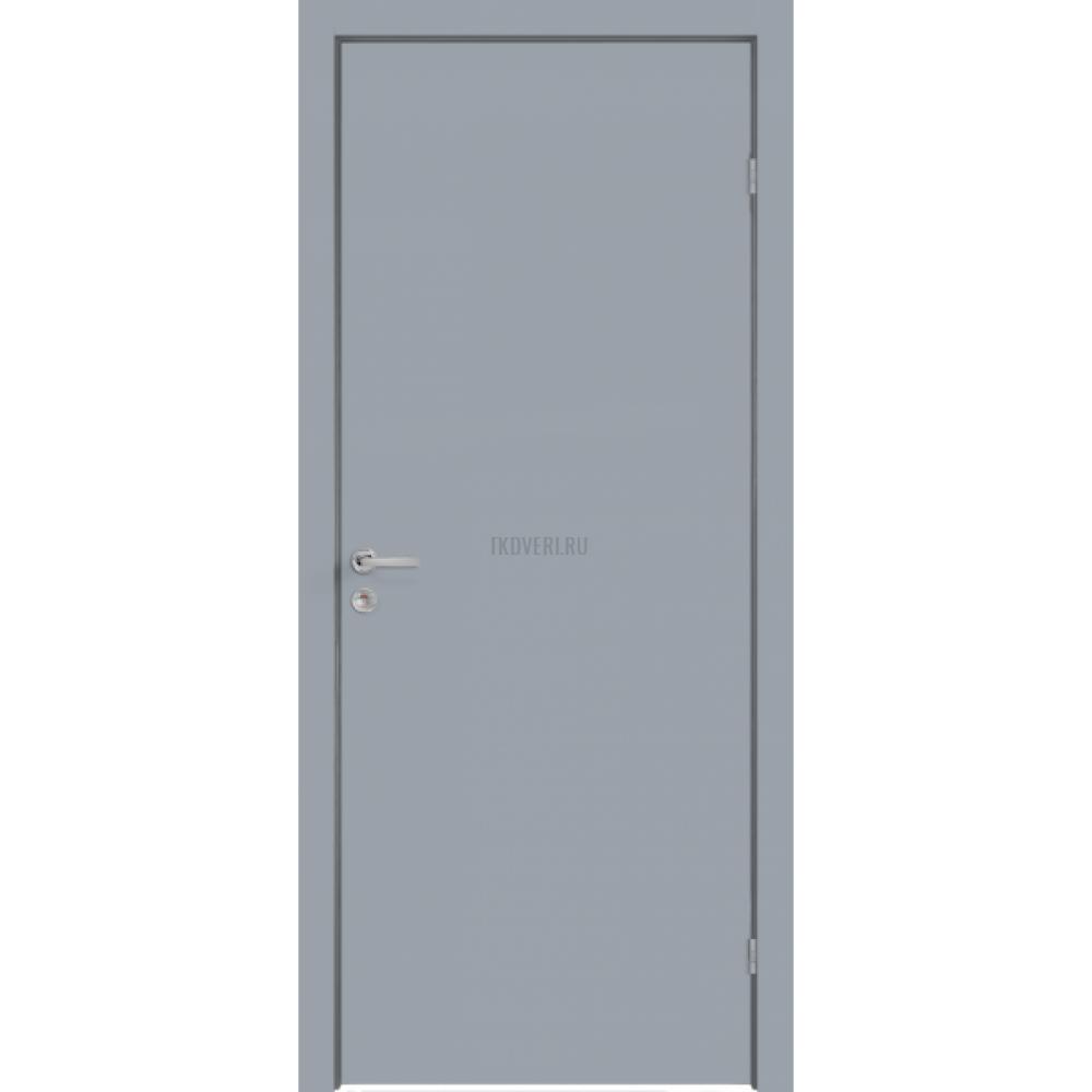 Дверь Крашенные Облегченное глухое М10х21 цвет RAL7040