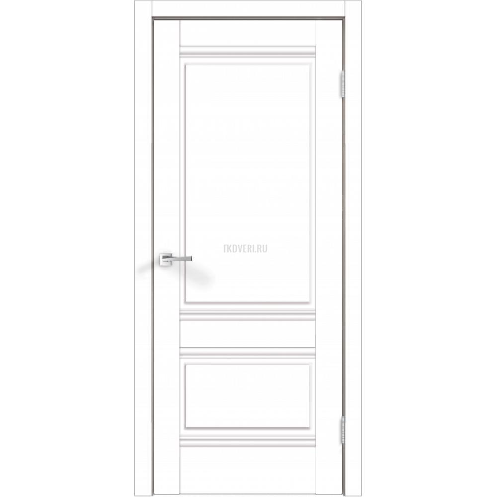 Дверь Экошпон ALTO 2P цвет Белый Эмалит