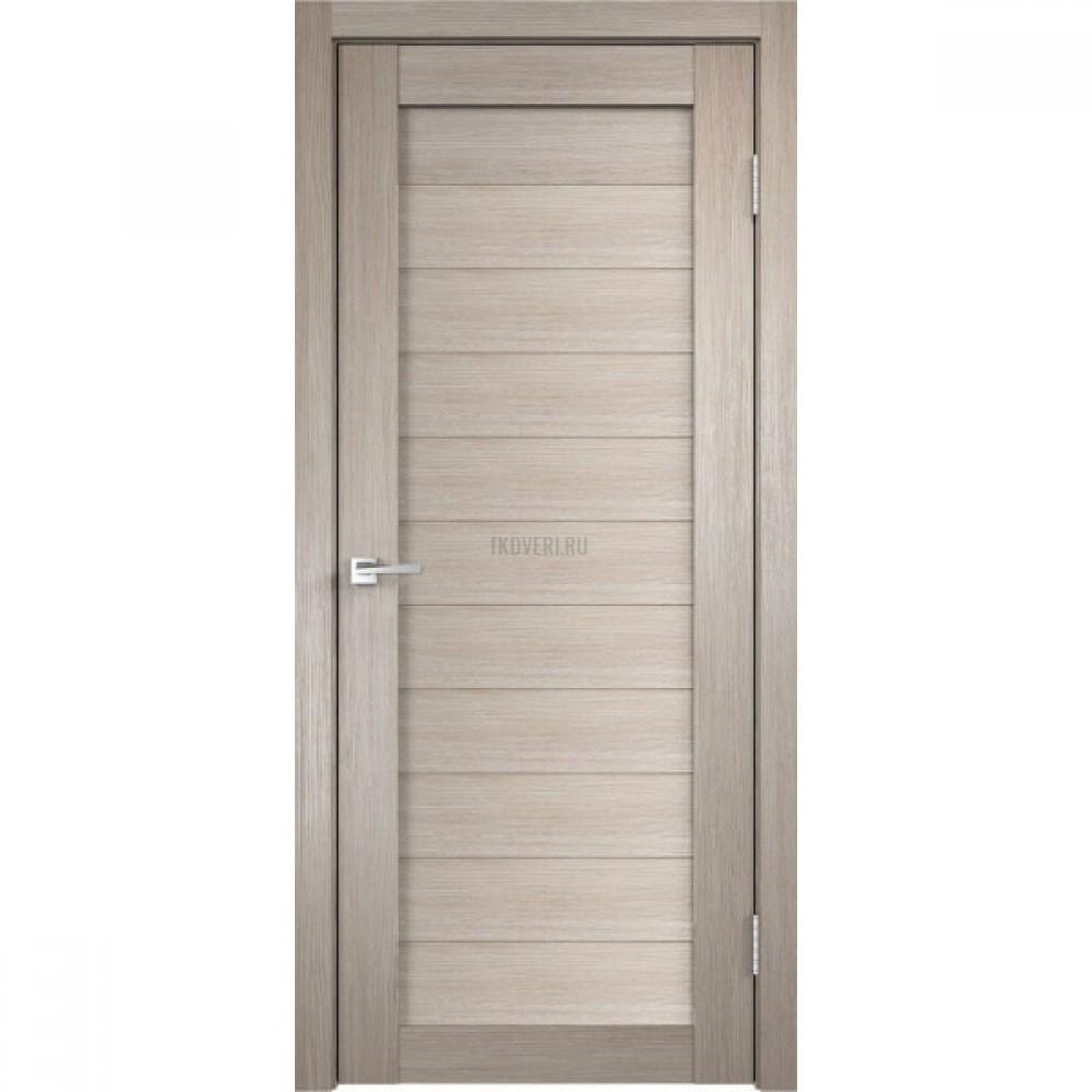 Дверь Экошпон DUPLEX 0 цвет Капучино