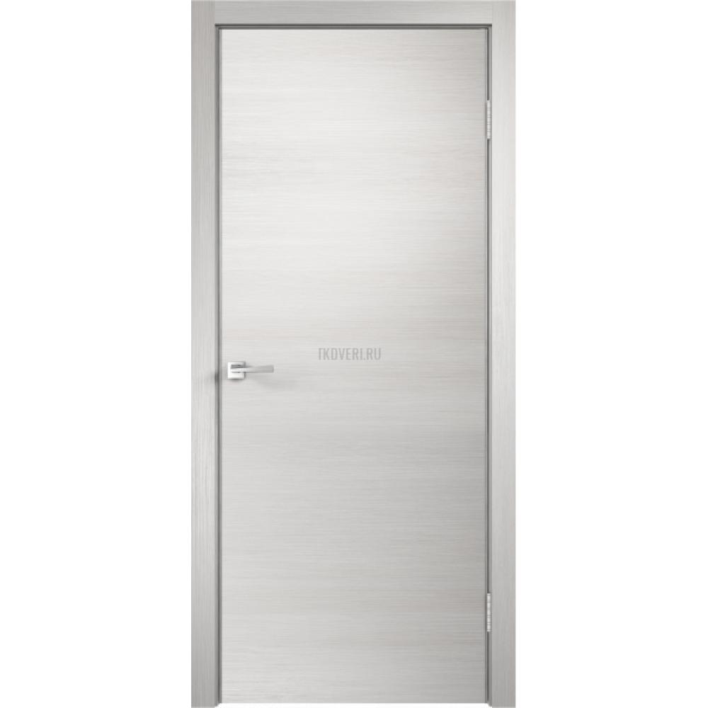 Дверь Экошпон TECHNO цвет Дуб белый поперечный