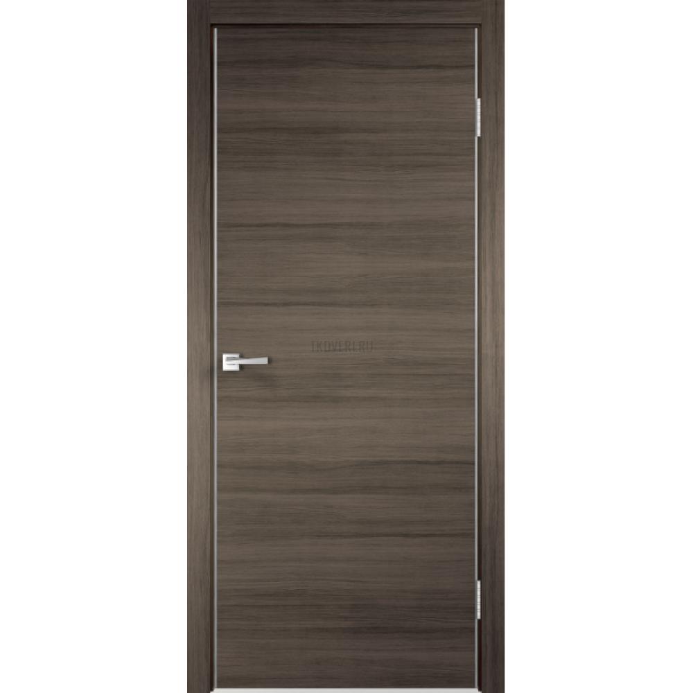 Дверь Экошпон TECHNO цвет Дуб серый поперечный