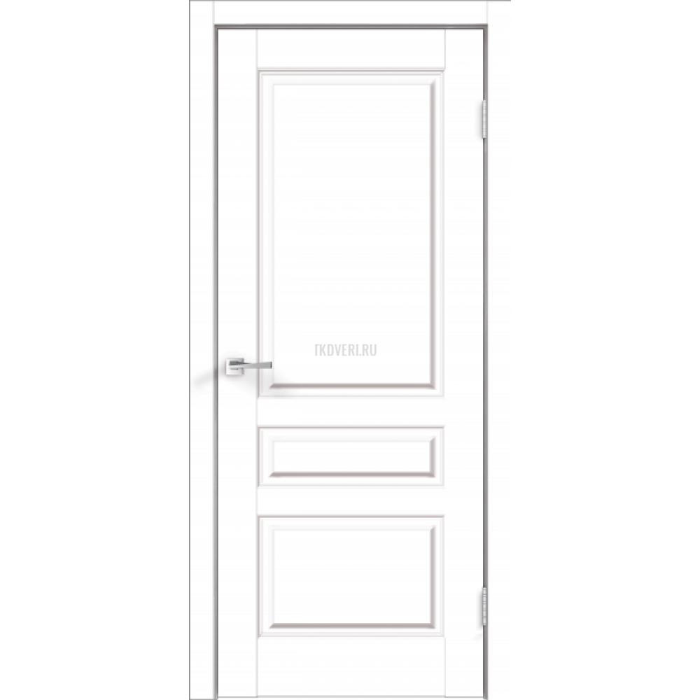 Дверь Экошпон VILLA 3P цвет Белый Эмалит