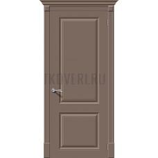 Дверь эмаль Скинни-12 Mocca глухая