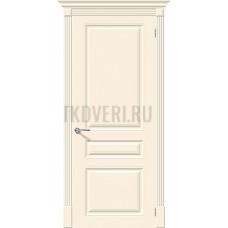 Дверь эмаль Скинни-14 Cream глухая