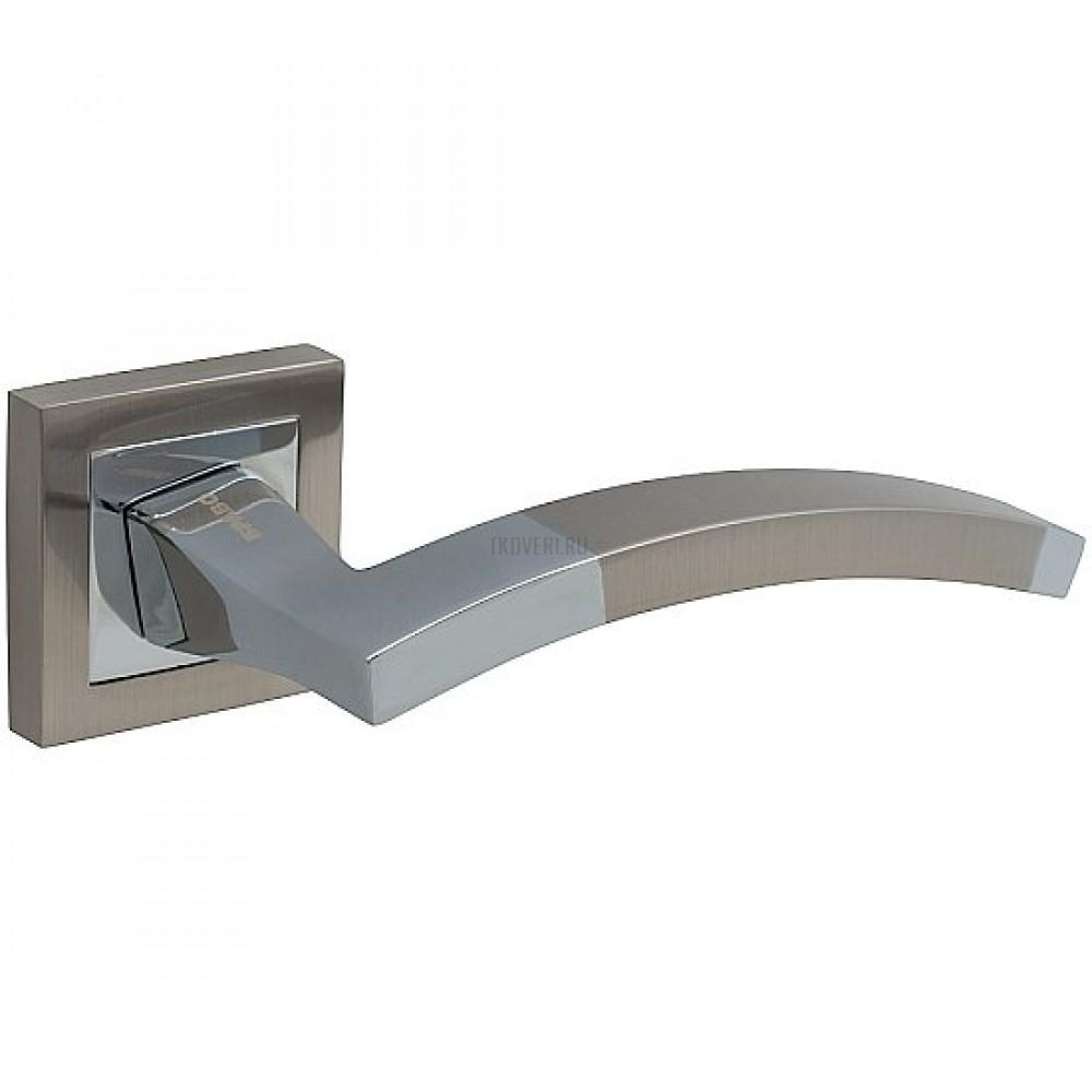 Ручка дверная Z-206 м.Никель(хром)