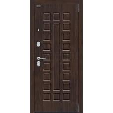 Входная дверь Урбан_NEW класса Комфорт  Темная Вишня/Bianco Veralinga 033-1566