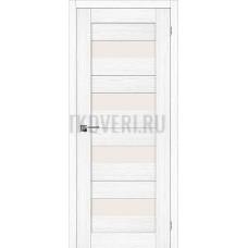 Дверь экошпон Порта-23 Snow Veralinga