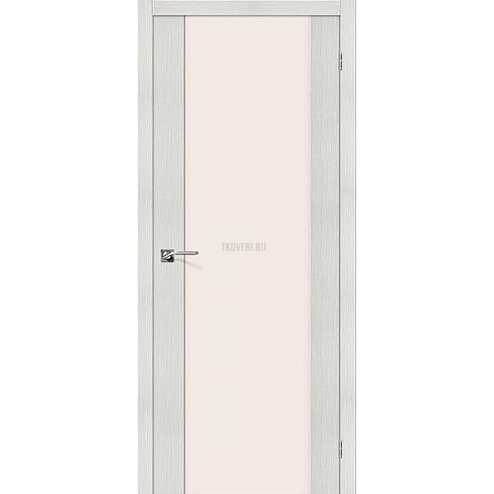Дверь экошпон Порта-13 Bianco Veralinga