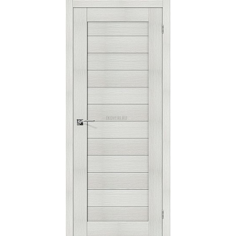 Дверь экошпон Порта-21 Bianco Veralinga
