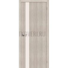 Дверь экошпон Порта-11 Cappuccino Veralinga