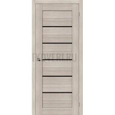 Дверь экошпон Порта-22 Cappuccino Veralinga/Black Star