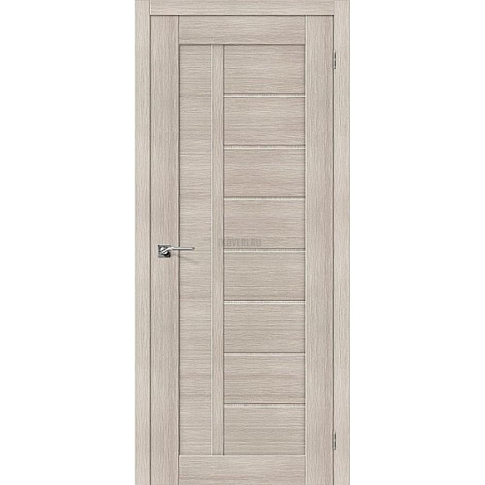 Дверь экошпон Порта-26 Cappuccino Veralinga