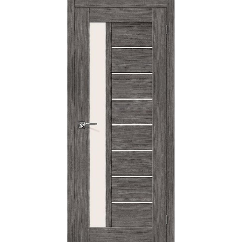 Дверь экошпон Порта-27 Grey Veralinga