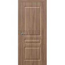 Дверь ПВХ Скинни-14 Шимо темый глухая