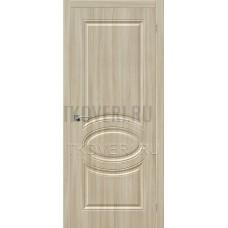 Дверь ПВХ Скинни-20 Шимо светлый глухая