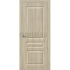 Дверь ПВХ Статус-14 Шимо светлый глухая