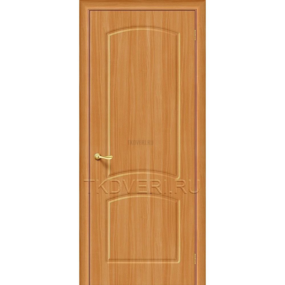 Дверь ПВХ Кэролл Миланский орех глухая