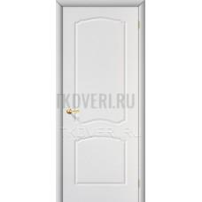 Дверь ПВХ Альфа Белый глухая