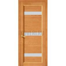 Вега-2 ПЧО Светлый орех дверь из массива сосны
