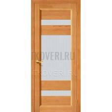 Вега-2 Светлый орех дверь из массива сосны