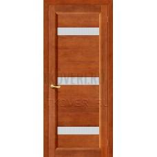 Вега-2 ПЧО Темный орех дверь из массива сосны