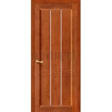Вега-19 Светлый орех дверь из массива сосны
