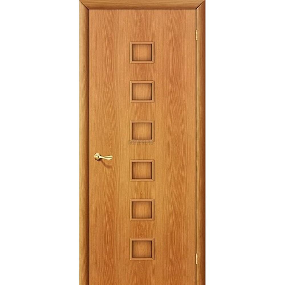 Ламинированная дверь глухая МДФ с финишным покрытием МиланОрех 010-0143