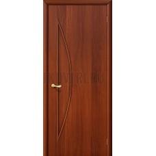 Ламинированная дверь глухая из МДФ ИталОрех 010-0406 190*55