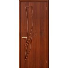 Ламинированная глухая дверь из МДФ с покрытием ПВХ ИталОрех 010-0508