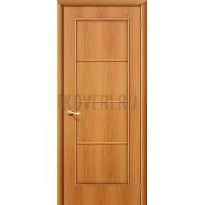 Ламинированная дверь глухая МДФ МиланОрех 010-0007