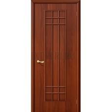 Ламинированная дверь глухая МДФ ИталОрех 010-0109