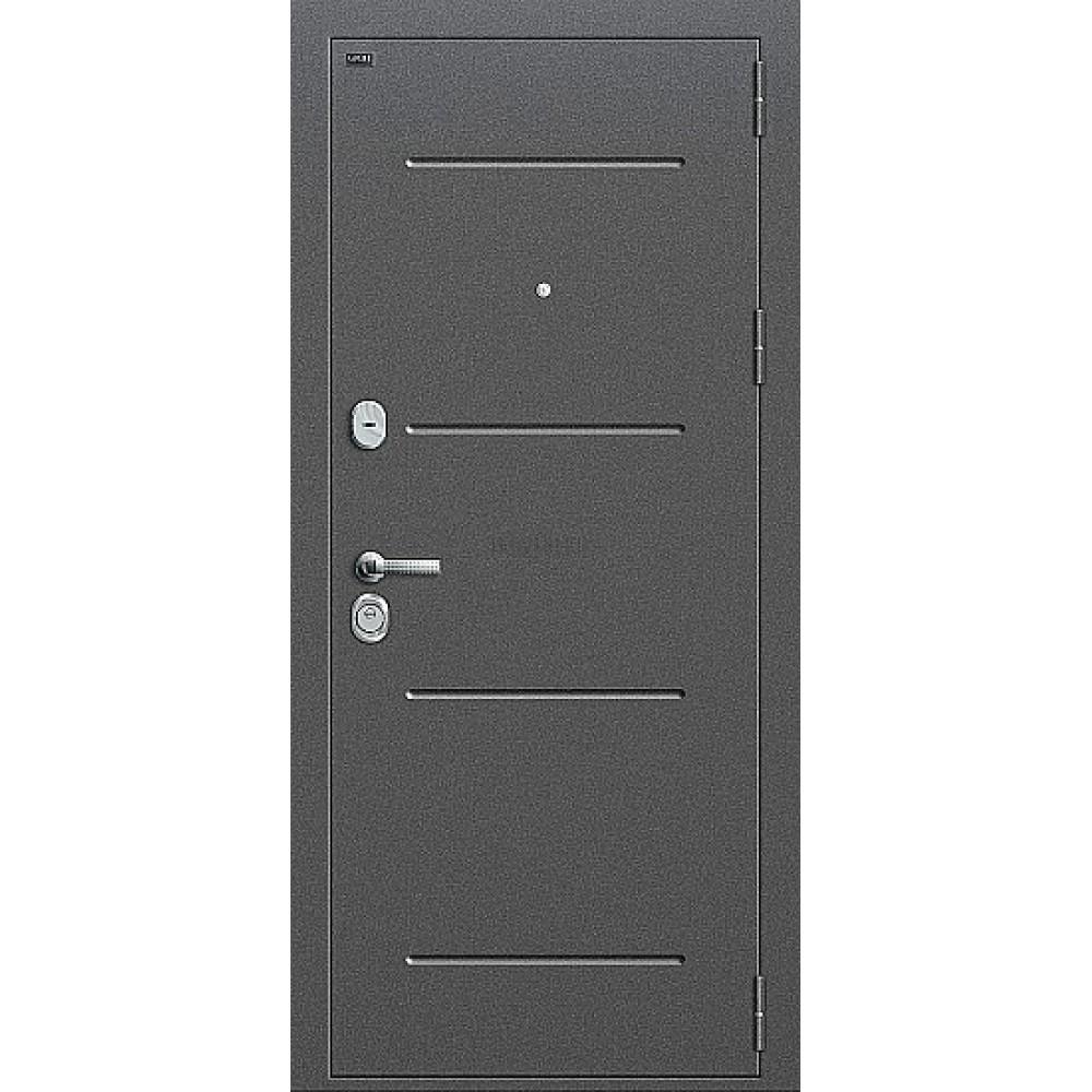 Дверь входная Groff Т2-221 Антик Серебро / Cappuccino Veralinga