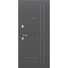 Дверь входная Groff Р2-210 Антик Серебро / П-25 Беленый Дуб