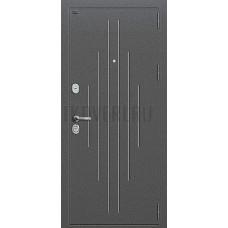 Дверь входная Groff Р2-215 Антик Серебро / П-25 Беленый Дуб