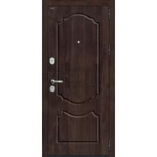 Дверь входная Groff Р3-310 П-28 Темная Вишня / П-25 Беленый Дуб