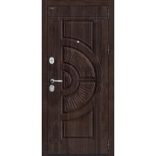 Дверь входная Groff Р3-312 П-28 Темная Вишня / П-25 Беленый Дуб