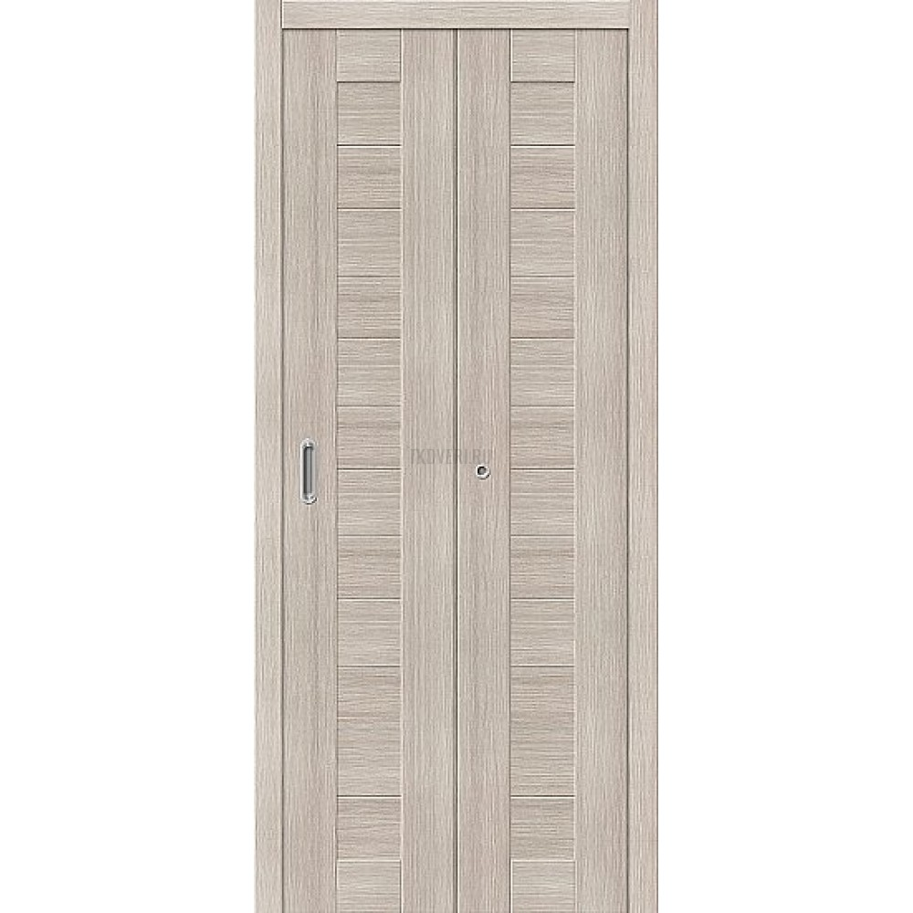 Дверь книжка Эко Шпон Порта-21 Cappuccino Veralinga