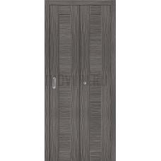 Дверь книжка Эко Шпон Порта-21 Grey Veralinga